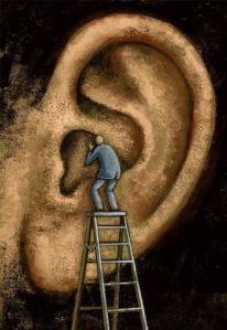 ser todo oídos