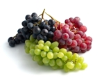 colourful grapes