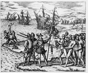llegada de Colón